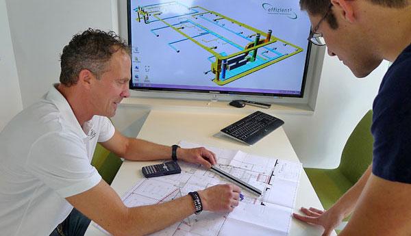 Mit unseren Planungen bieten wir wirtschaftliche Lösungen für Energietechnik.